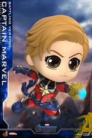 Avengers 4: Endgame - Captain Marvel Battling Cosbaby | Merchandise