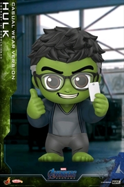 Avengers 4: Endgame - Hulk Casual Cosbaby | Merchandise