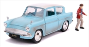 Harry Potter - 1959 Ford Anglia 1:24 Hollywood Ride Diecast Vehicle | Merchandise