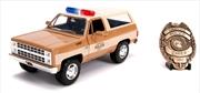 Stranger Things - 1980 Chevy K5 Blazer 1:24 Hollywood Ride | Merchandise