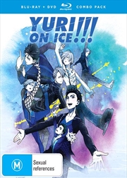Yuri!!! On Ice | Blu-ray + DVD - Complete Series | Blu-ray/DVD