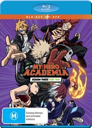 My Hero Academia - Season 3 - Part 2 | Blu-ray + DVD | Blu-ray/DVD