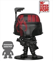 "Star Wars - Boba Fett Black US Exclusive 10"" Pop! Vinyl [RS] | Pop Vinyl"