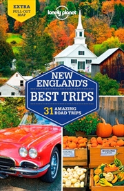 Lonely Planet - New Englands Best Trips 4 | Paperback Book