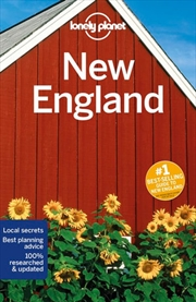Lonely Planet - New England Travel Guide | Paperback Book