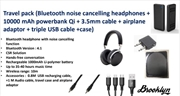 Noise Cancelling Headphones - Travel Pack