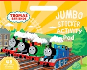 Thomas and Friends: Jumbo Sticker Activity Pad | Paperback Book