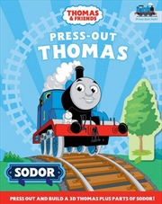 Thomas and Friends : Press Out and Build | Hardback Book
