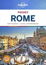 Lonely Planet Pocket Rome Travel Guide | Paperback Book