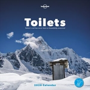 Toilets - 2020 Wall Calendar - Nature's call has never been so beautifully answered
