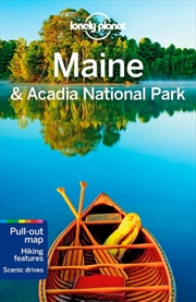Lonely Planet Maine & Acadia National Park Travel Guide | Paperback Book