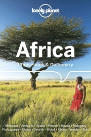 Lonely Planet Africa Phrasebook & Dictionary | Paperback Book