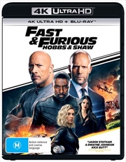 Fast and Furious - Hobbs and Shaw | Blu-ray + UHD