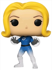 Fantastic Four - Invisible Girl Translucent US Exclusive Pop! Vinyl [RS]