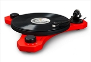 Crosley C3 Turntable - Red | Hardware Electrical