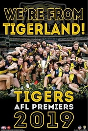 AFL 2019 Premiers Richmond Tigers - We're From Tigerland | Merchandise