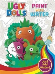 UglyDolls: Paint with Water | Paperback Book