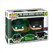 Green Hornet - Green Hornet And Kato Pop! NYCC19 RS