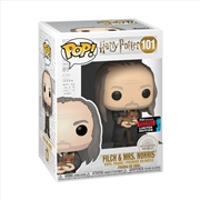 Harry Potter - Filch w/Mrs Norris Yule Pop! NYCC19 RS | Pop Vinyl