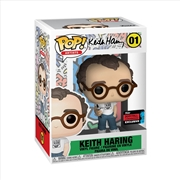 Icons - Keith Haring Pop! NYCC19 RS | Pop Vinyl