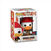 Mickey Mouse - Donald Duck Firefighter ANNIV Pop! NYCC19 RS | Pop Vinyl