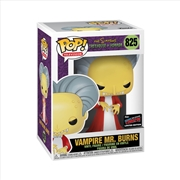 Simpsons - Mr Burns as Dracula Pop! NYCC19 RS | Pop Vinyl