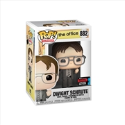 The Office - Dwight w/Bobblehead Pop! NYCC19 RS