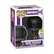 Fortnite - Dark Voyager Metallic & Glow Pop! NYCC19 RS | Pop Vinyl
