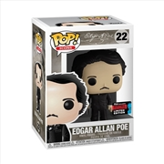 Icons - Edgar Allen Poe w/Book Pop! NYCC19 RS | Pop Vinyl