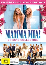 Mamma Mia! / Mamma Mia - Here We Go Again! - Franchise Pack | DVD
