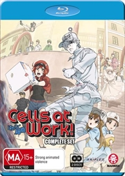 Cells At Work! - Season 1 - Eps 1-13 | + Special | Blu-ray