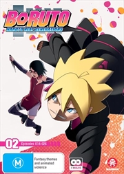 Boruto - Naruto Next Generations - Part 2 - Eps 14-26 | + Ova | DVD