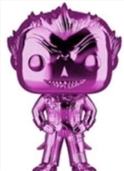 Batman: Arkham Asylum - The Joker Purple Chrome US Exclusive Pop! Vinyl [RS] Chrome US Exclusive Pop | Pop Vinyl