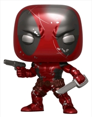 Deadpool - Deadpool 1st Appearance Metallic 80th Anniversary US Exclusive Pop! Vinyl [RS] | Pop Vinyl