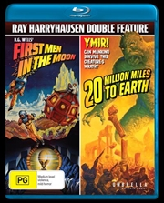 First Men In The Moon / 20 Million Miles To Earth | Blu-ray
