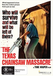 Texas Chainsaw Massacre, The | DVD