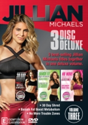 Jillian Michaels - Deluxe Edition Vol 3 - Banish Fat, Boost Metabolism / No More Trouble Zones / 30