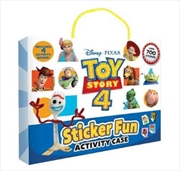 Toy Story 4: Sticker Fun Activity Case | Hardback Book