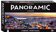 Lisbon 1000 Piece Panoramic Puzzle | Merchandise
