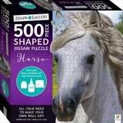 500 Piece Shaped Jigsaw: Horse | Merchandise