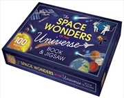 Space Wonders of the Universe Book and Floor Puzzle | Hardback Book