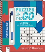 Puzzles on the Go: Sudoku and Other Number Puzzles Series 8 | Paperback Book