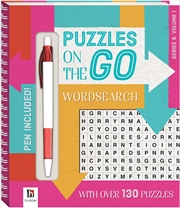 Puzzles on the Go: Wordsearch Series 8 Volume 1 | Paperback Book