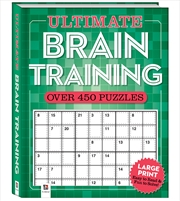 Ultimate Puzzle Book: Brain Training | Merchandise
