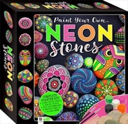 Paint Your Own Neon Stones Box | Merchandise