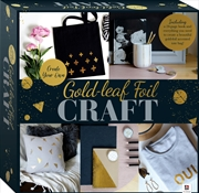 Create Your Own Gold-leaf Foil Craft Box Set