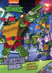 Rise of the Teenage Mutant Ninja Turtles Sticker Activity Book | Paperback Book