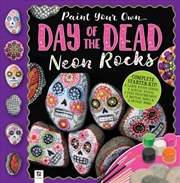 Day of the Dead Neon Painted Rocks (tuck box) | Merchandise