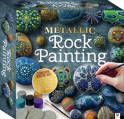 Metallic Rock Painting (Tuck Box)