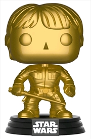 Star Wars - Luke Skywalker Gold Metallic US Exclusive Pop! Vinyl [RS] | Pop Vinyl